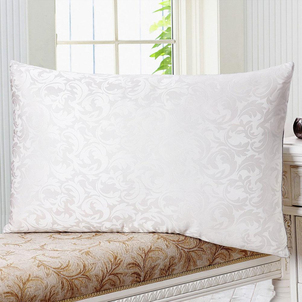 Luxury and Soft 100% Silk Filled Pillow | White Color