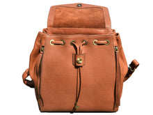 Load image into Gallery viewer, leather backpack