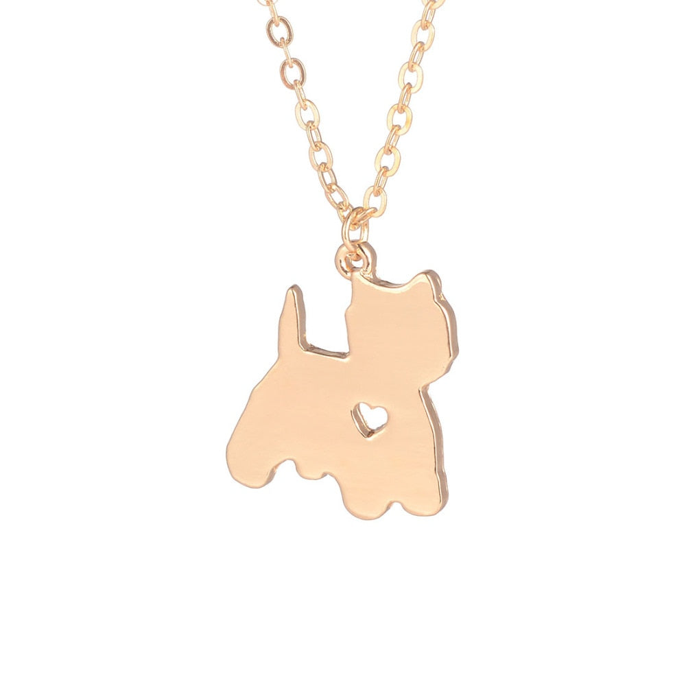 Yorkshire Terrier Pendant Necklace