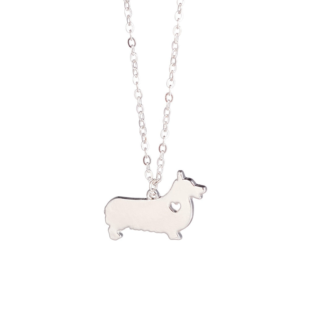 Corgi Pendant Necklace