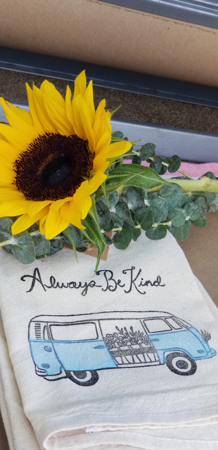 Always Be Kind Tea Towel