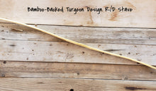 Load image into Gallery viewer, Bamboo Backed Bow Stave, Turgeon Design, R/D Limbs