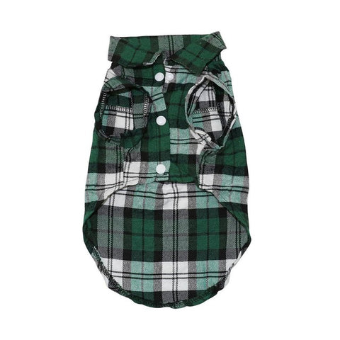 Awesome Plaid Dog Clothes