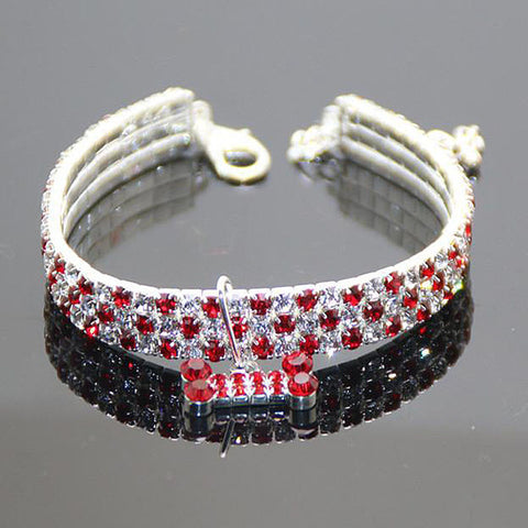 Alloy Diamond Collar