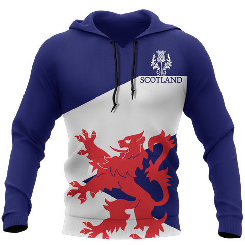 Image of Scottish Flag And Lion - Scotland Hoodie | Hot Sale