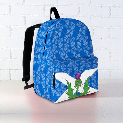 Thistle On Flag - Scotland Backpack | HOT SALE