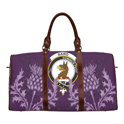 Image of Baird Crest Scottish Thistle Scotland Travel Bag A7
