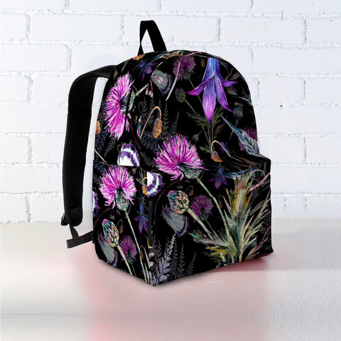 Dark Thistle - Scotland Backpack | Special Custom Design