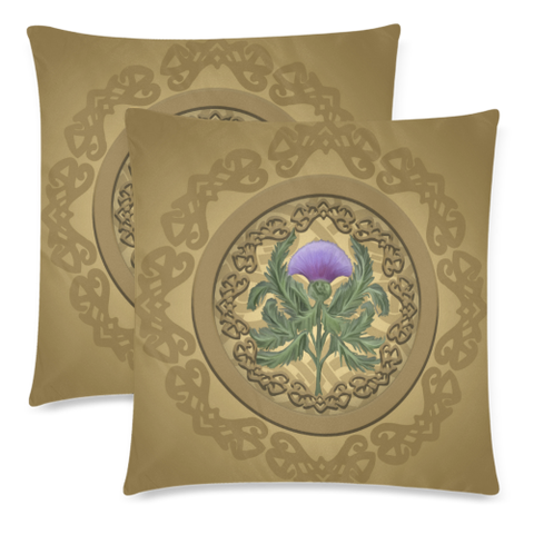 Luxurious Thistle Scottish - Pillow Cushions Cover | Special Custom Design