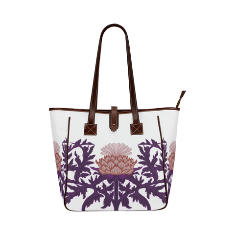 Thistle Vintage ( White Version) - Classic Tote Bag | HOT SALE