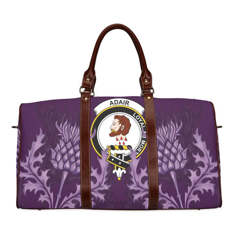 Image of Adair Crest Scottish Thistle Scotland Travel Bag A7