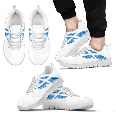 Image of Scottish (Men's/Women's) White Wings - Sneakers | Hot sale