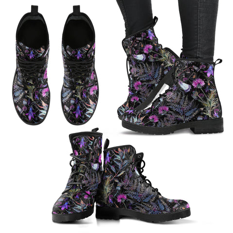 Dark Thistle - Leather Boots | Special Custom Design