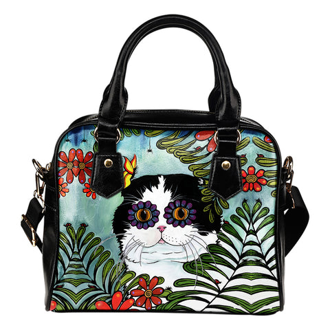 Hiding Scottish Fold Cat - Shoulder Handbag | HOT Sale