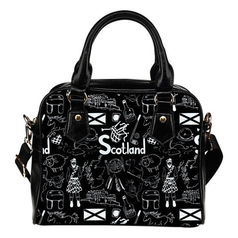 Scotland Things - Shoulder Handbag | Special Custom Design