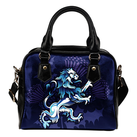 Rampant Lion - Scotland Shoulder Handbag | Women | Love Scotland