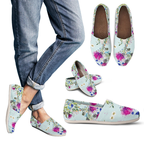 Thistle Pattern 01 - Women's Casual Shoes | HOT SALE