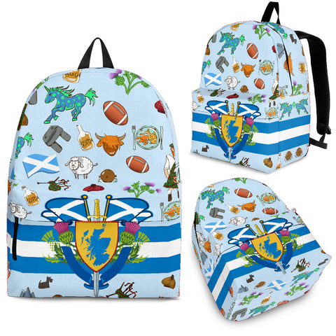 Scotland Symbols Backpack