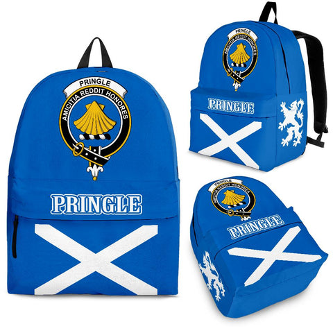 Pringle Crest Backpack Scottish Flag A7