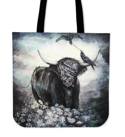 Highland Cow 01 - Tote Bag | Special Custom Design