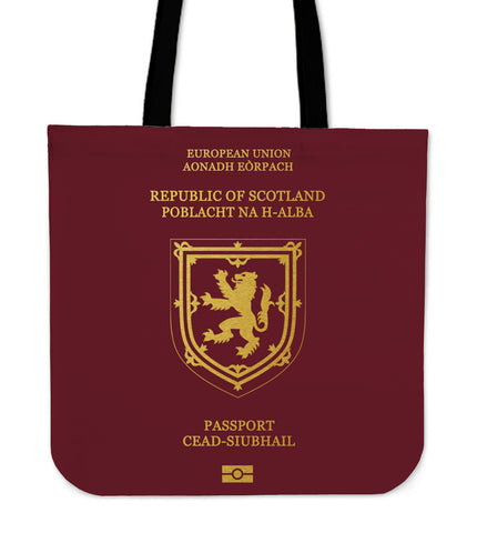 Scotland Lion Passport - Tote Bag | Special Custom Design