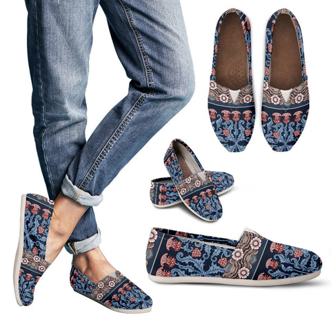 Thistle Pattern 07 - Women's Casual Shoes | HOT SALE