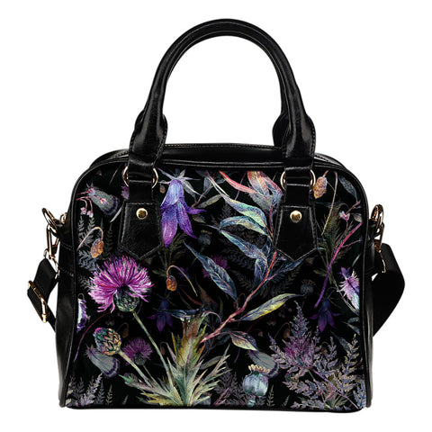 Thistle Pattern - Shoulder Handbag | HOT SALE