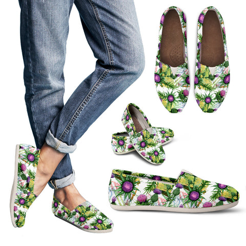 Thistle Pattern 03 - Women's Casual Shoes | HOT SALE