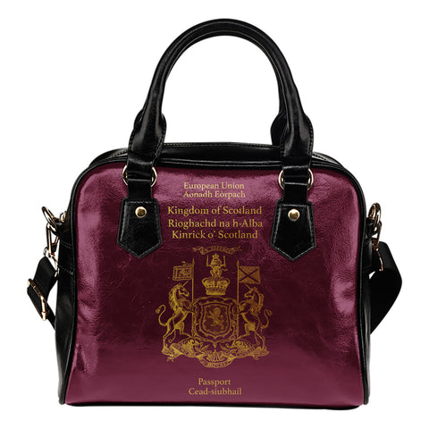 Scotland Passport - Shoulder Handbag | Special Custom Design