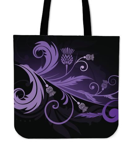 Purple Thistle Light Tote Bags |Hot Sale| 1stscotland