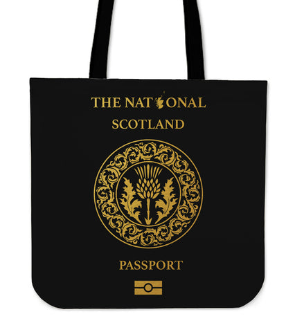Scotland Thistle Passport - Tote Bag | Special Custom Design