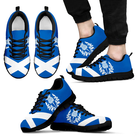 Image of Thistle Men's / Women's - Scotland Sneakers (Shoes) | Hot Sale