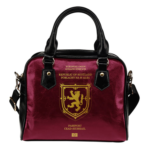 Scotland Lion Passport - Shoulder Handbag | Special Custom Design