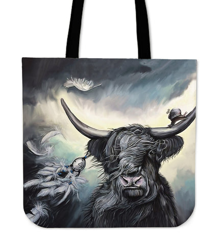 Highland Cow - Scotland Tote Bags | Hot Sale