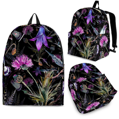 Image of Dark Thistle - Scotland Backpack | Special Custom Design