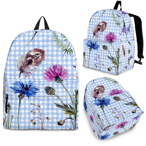 Thistle Pattern 01 - Scotland Backpack | HOT SALE