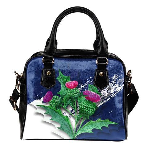 Scotland Thistle - Shoulder Handbag | Special Custom Design