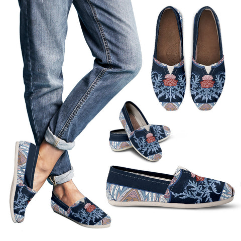 Thistle Pattern 06 - Women's Casual Shoes | HOT SALE