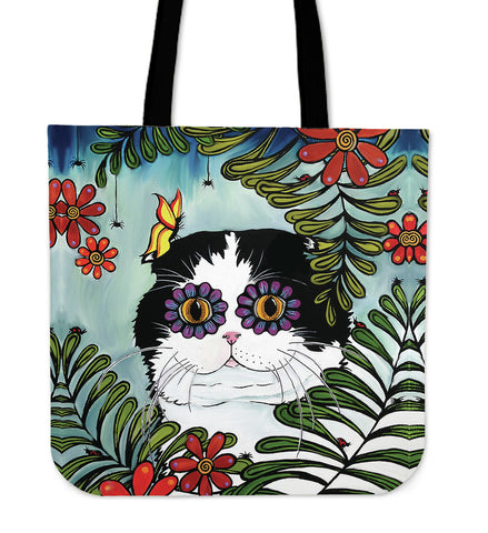 Hiding Scottish Fold Cat - Tote Bags | HOT Sale