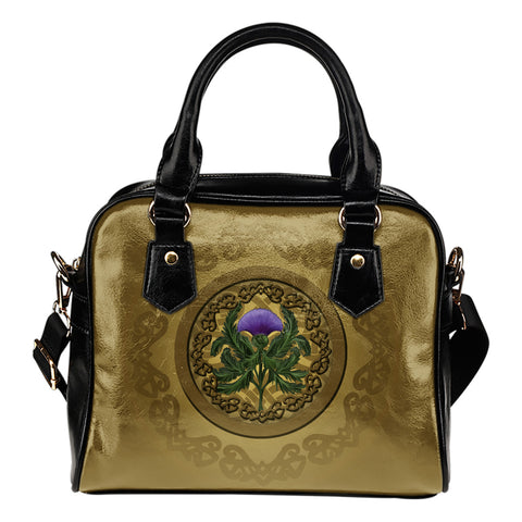 Image of Luxurious Thistle Scottish - Shoulder Handbag | Special Custom Design