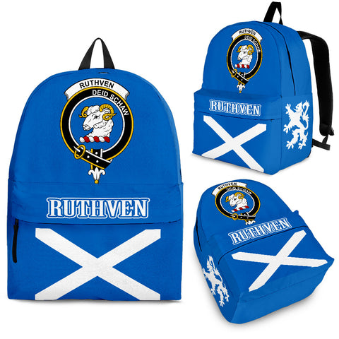 Ruthven Crest Backpack Scottish Flag A7
