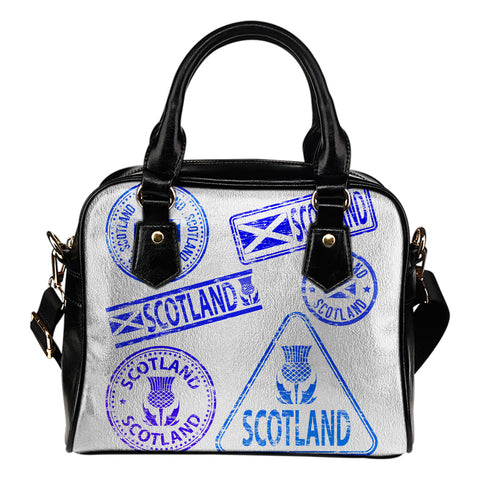 Travel Stamp 03 - Scotland Shoulder Handbag | HOT SALE