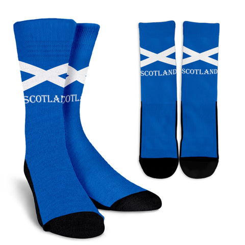 Scotland Crew Socks - Scottish Flag | HOT Sale