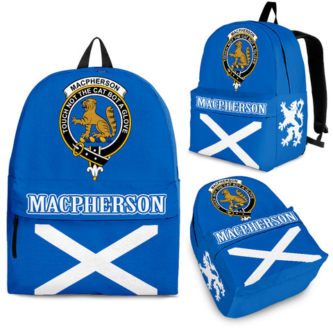 MacPherson (Chief) Crest Backpack Scottish Flag A7
