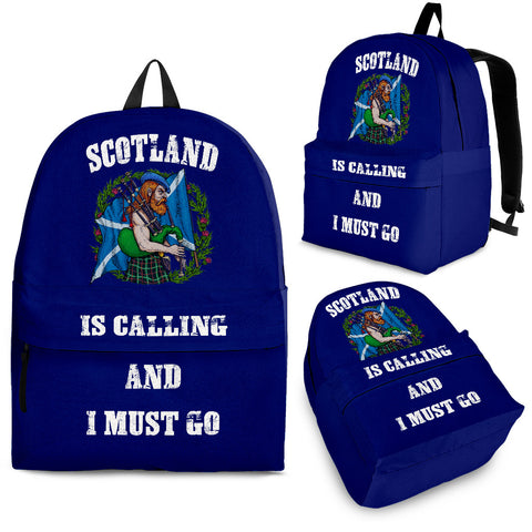 Scotland Is Calling - Scotland Backpack | Special Custom Design