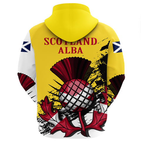 Image of Scotland Zipper Hoodie Special Version (Yellow)