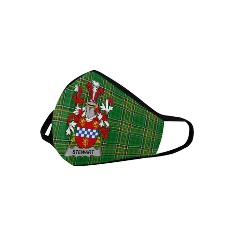 Stewart Ireland Mouth Mask - Irish National Tartan (Combo) A9