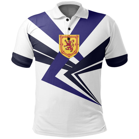 Royal Arms of Scotland Polo Shirt | Women & Men | LoveScotland