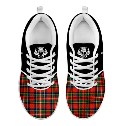 Custom - Scotland Rising Sneakers (Black)