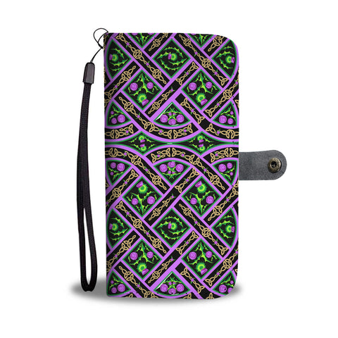 Scottish Thistle Pattern Phone Case | HOT Sale